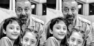 Sanjay Dutt shares wishes his children a happy birthday, shares an adorable picture!
