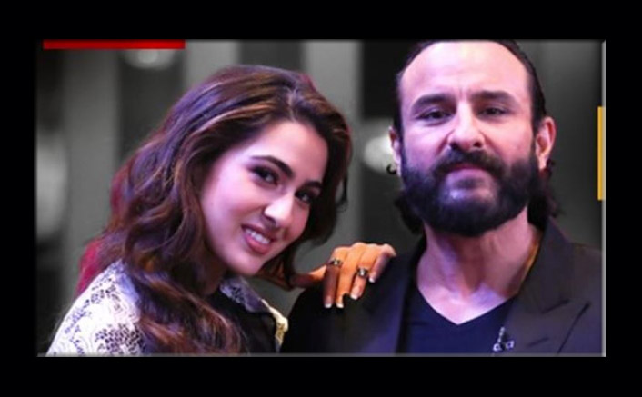 Sara Ali Khan Reveals Abba Saif Ali Khan Is Not Interested In Gossip But This Is What Gets Him Interested