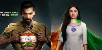 Satyameva Jayate 2 Posters OUT: John Abraham's Might & Divya Khosla's Beauty Is Metaphorically Patriotic!