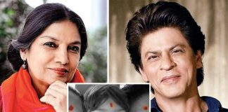 Shah Rukh Khan Back Lashed For His Tilak; Shabana Azmi Has A Best Reply For Trollers