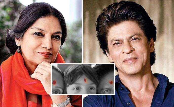 Shah Rukh Khan TROLLED For Sporting Tilak On Diwali; Shabana Azmi Gives A Befitting Reply