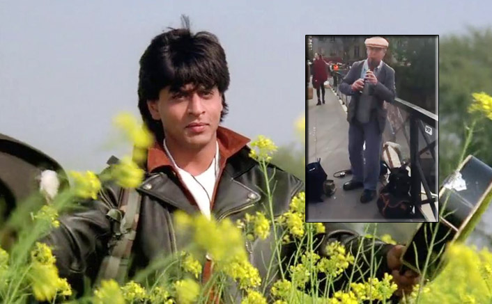 Shah Rukh Khan Remembers Late Director Yash Chopra After Watching A Video Of A Musician Playing 'Tujhe Dekha Toh' Song Tune