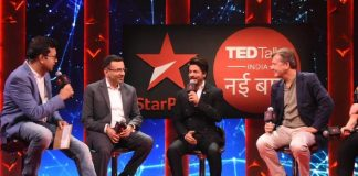 Shah Rukh Khan & TED Talks India take an important pledge of 'No Plastic' at the recent show launch