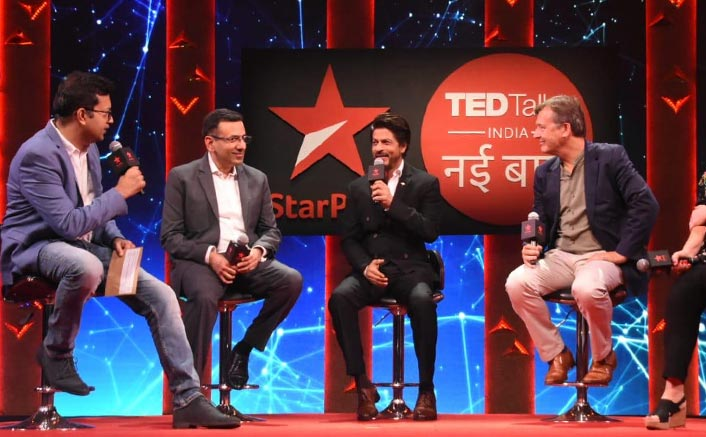 Shah Rukh Khan & TED Talks India Pledge For 'No Plastic' At The Show Launch