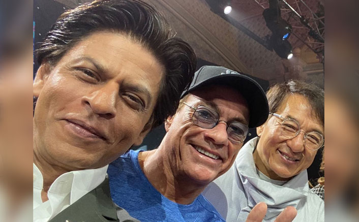 Shah Rukh Khan's Fanboy Moment With Jackie Chan & Jean-Claude Van Damme Is Adorable