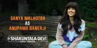 Shakuntala Devi: Sanya Malhotra Dons A Cute Avatar For The Vidya Balan Starrer