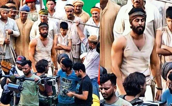 Shamshera On-Set Pictures LEAKED: Ranbir Kapoor's Rustic All-Bearded Look Revealed!