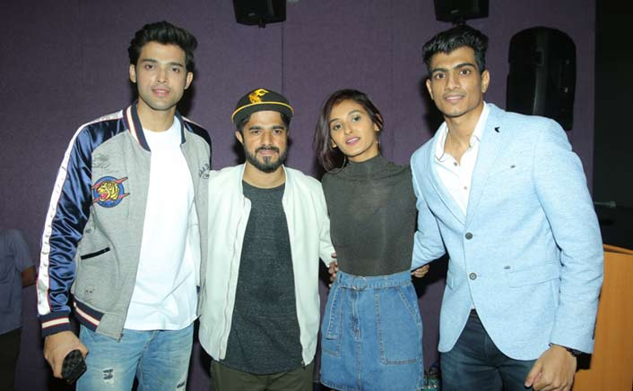 Palash Muchhal Launches His New Single Aakhri Baar Featuring Paarth Samthaan & Shakti Mohan