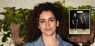 *Smooth as ever, Sanya Malhotra grooves on the tune of Hrithik Roshan starrer raging song 'Ghungroo'*