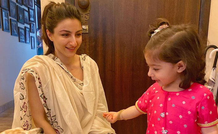 Soha Ali Khan & Kunal Kemmu's Daughter Inaaya Naumi Kemmu's Video Of Chanting Gayatri Mantra Breaks The Internet