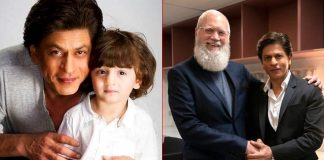 SRK shares AbRam's reaction to his David Letterman interview