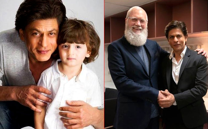 Shah Rukh Khan Shares AbRam's Reaction On David Letterman Interview & It's 'Caption Of The Year'