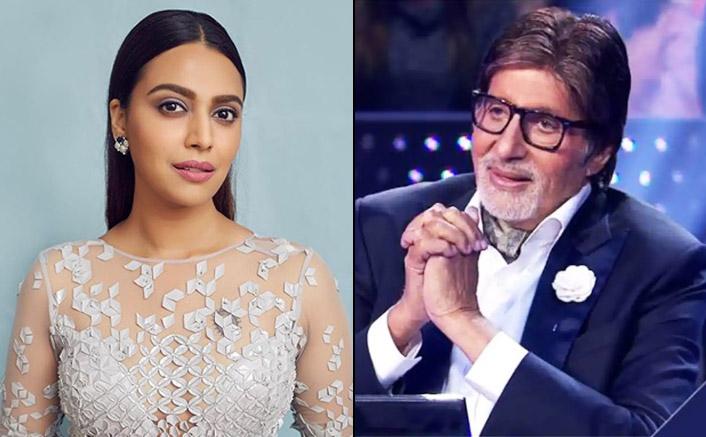 Kaun Banega Crorepati: Swara Bhasker Is On Cloud Nine As Amitabh Bachchan Takes Her Film's Name