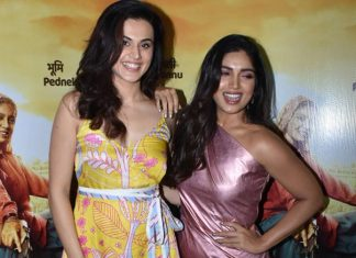 Taapsee Pannu & Bhumi Pednekar Reply To The Rumors Of Their Disagreement On The Sets Of Saand Ki Ankh