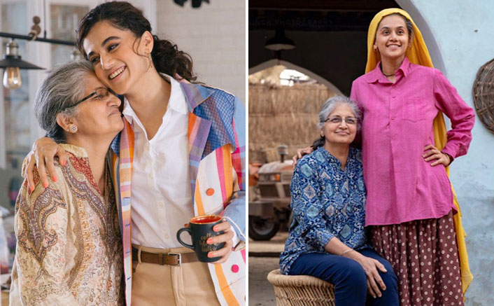 "Taapsee Pannu's Mother Watches Saand Ki Aankh & Compliments Her With: ""Tujhe Acting Aa Gayi Hai"""