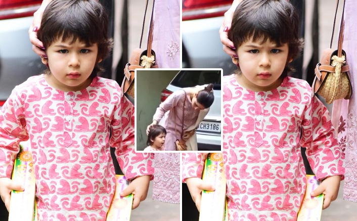 Taimur Ali Khan Gets Angry At The Paparazzi & Shouts 'NO' To Taking His Pictures