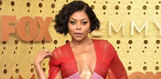 Taraji P. Henson in tears while talking about mental illness