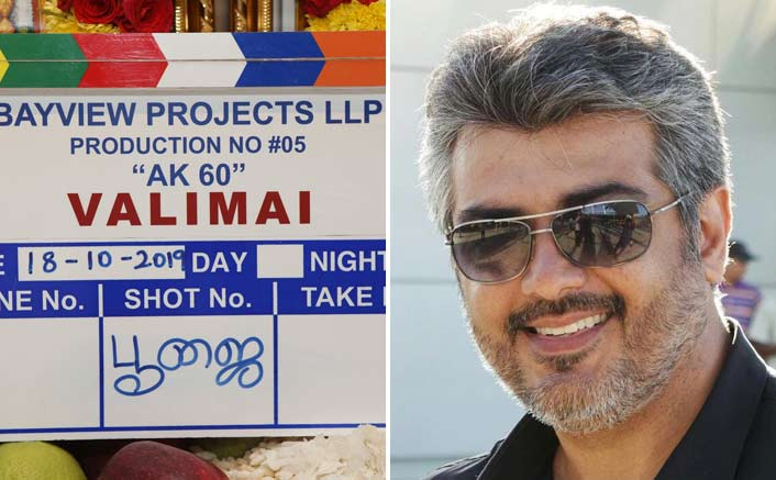 #Thala60 Update: Ajith Kumar To Play A Tough Cop In His Next Titled 'Valimai'