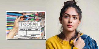 Toofan: Mrunal Thakur Starts Shooting For Farhan Akhtar Starrer