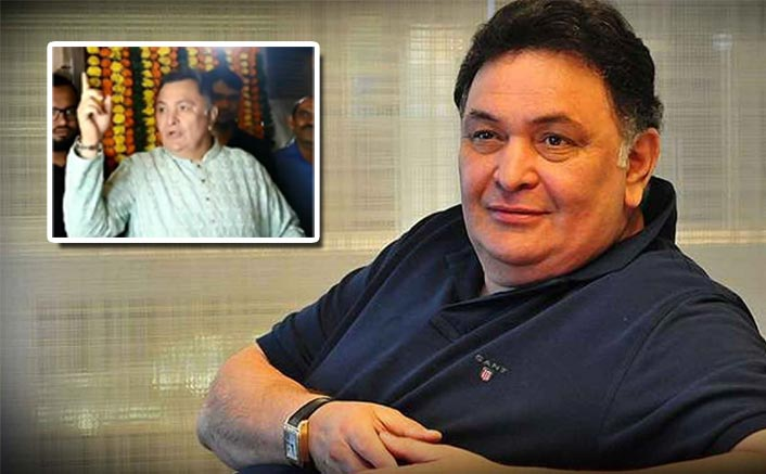 """Tum Chup Raho"": Rishi Kapoor To Journalist Making Noise During Diwali Celebrations! See Video"