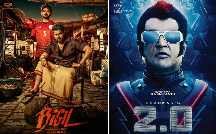 Vijay Starrer Bigil The Second Most Expensive Kollywood Film After Rajinikanth & Akshay Kumar's 2.0?