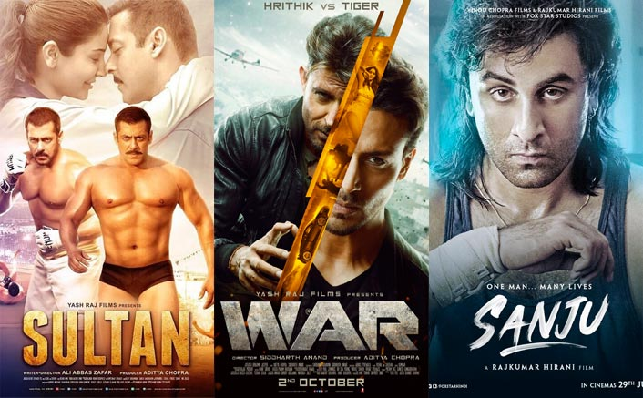 War Box Office: 216 Crores VS Sultan, Sanju – Top 4 Biggies That Entered 200 Crore Club In 7 Days!