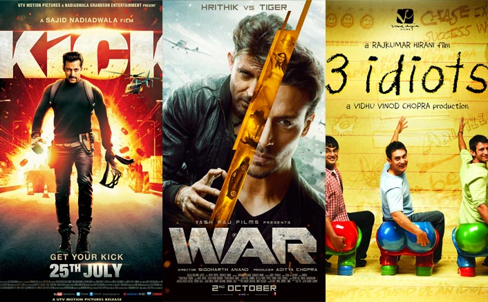 War Box Office (Worldwide): Beats 3 Idiots, Kick & 4Others With Its 400 Crore Plus Total!