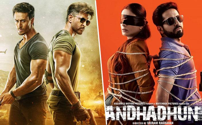 War Box Office (Worldwide): Hrithik Roshan-Tiger Shroff Take Over Ayushmann Khurrana's AndhaDhun