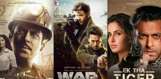 War Box Office (Worldwide): The Jodi Of Hrithik Roshan-Tiger Shroff EXCEEDS Salman Khan's Bharat & Ek Tha Tiger