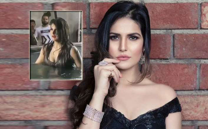 WATCH: Zarine Khan Gets Bold And Sexy In This Video Inside A Bathtub