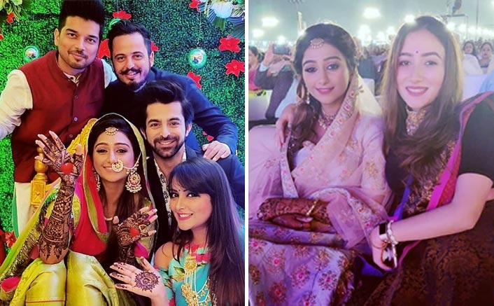 Wedding Bells! Yeh Rishta Kya Kehlata Hai Actress Mohena Kumari's Mehendi Pics Are BREAKING The Internet