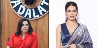 What are Farah Khan and Karishma Tanna doing in 'Bigg Boss' house?