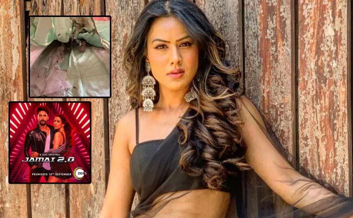 WHAT! Jamai 2.0 Actress Nia Sharma's Lehenga Catches Fire During Diwali Celebrations