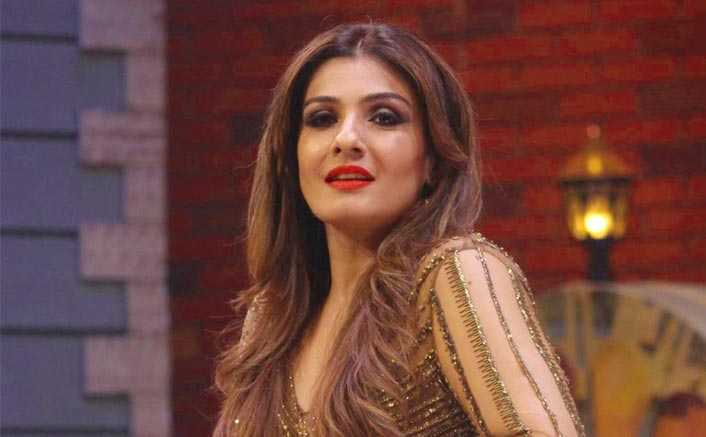 "Raveena Tandon On Having A Working Birthday: ""I Am Fortunate To Have A Loving Family & Also An Extended Work Family"""