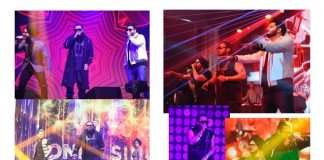 Yo Yo Honey Singh performs at a Diwali concert in Bangkok