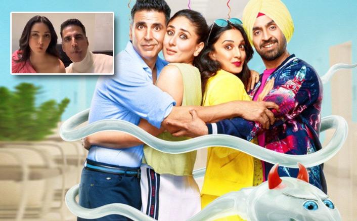Good Newwz: Akshay Kumar, Kiara Advani Recreate 'Ankhiyon Se Goli Maare' & It's The BEST Version Possible