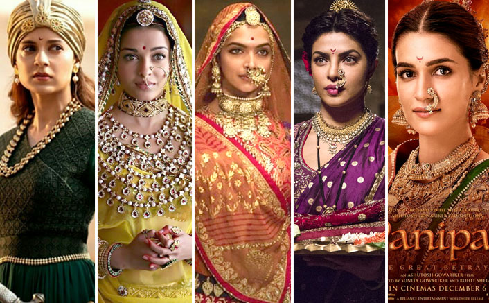 5 Period Films That Transformed Indian Actresses In Historic Beauties