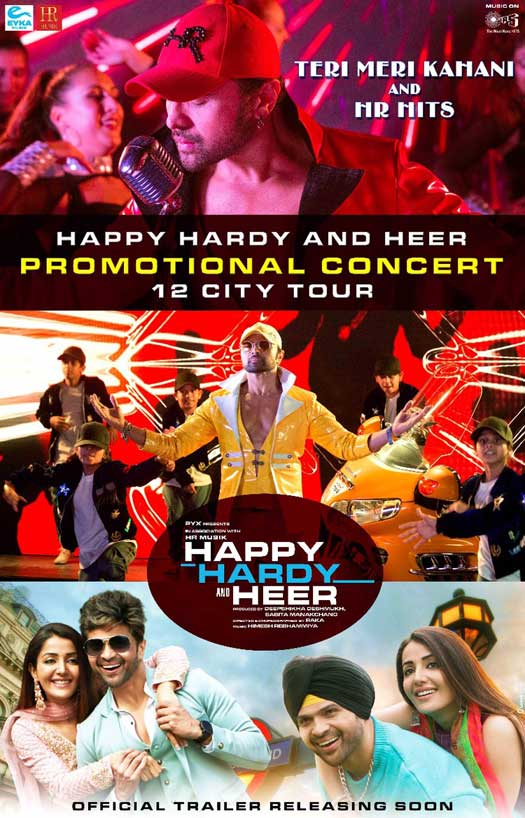 Himesh Reshammiya all set to perform in Surat today after a rocking promtional concert of Happy Hardy and Heer in Pune