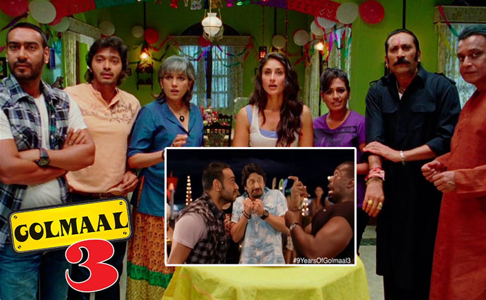 Ajay Devgn Shares An Hilarious Throwback Video Featuring Arshad Warsi To Celebrate 9 Years Of Golmaal 3
