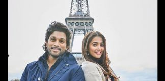 Ala Vaikunthapurramloo: Allu Arjun & Pooja Hegde Pose For A Cool Picture In Front Of The Iconic Eiffel Tower
