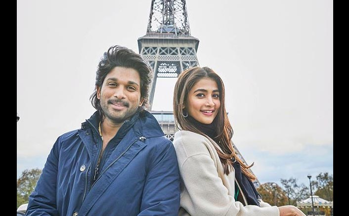 Ala Vaikunthapurramloo: Allu Arjun & Pooja Hegde's Eiffel Tower Picture Is Will Make You Crave For A Vacation