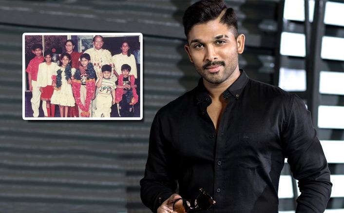 Allu Arjun Takes Trip Down Memory Lane, Shares A Picture With Grandpa Allu Ramalingaiah & Cousins