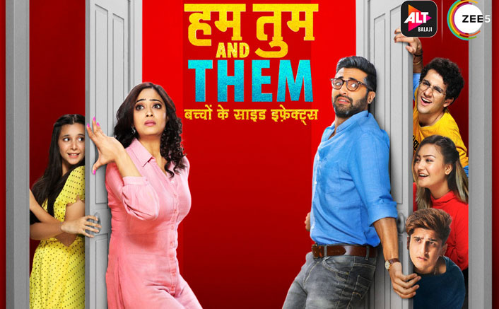 ALTBalaji and ZEE5 unveil the poster of their upcoming web series 'Hum Tum and Them- Bachchon ke side effects !'