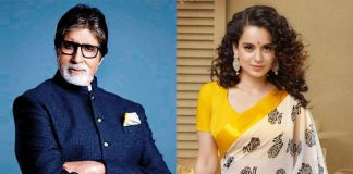 *Amitabh Bachchan crowns Kangana Ranaut as the number one actress of the country*