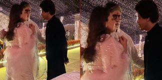 Amitabh Bachchan Is Having A Serious Discussion With Shah Rukh Khan & Gauri Khan & He's Teasing Us By Not Revealing It