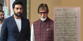 Amitabh Bachchan Shares A Letter Abhishek Bachchan Wrote To Him Decades Back & It's Adorable