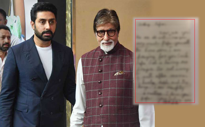 Abhishek Bachchan Was Every Lil Kid Away From His Father & Amitabh Bachchan's Latest Post is The Proof!