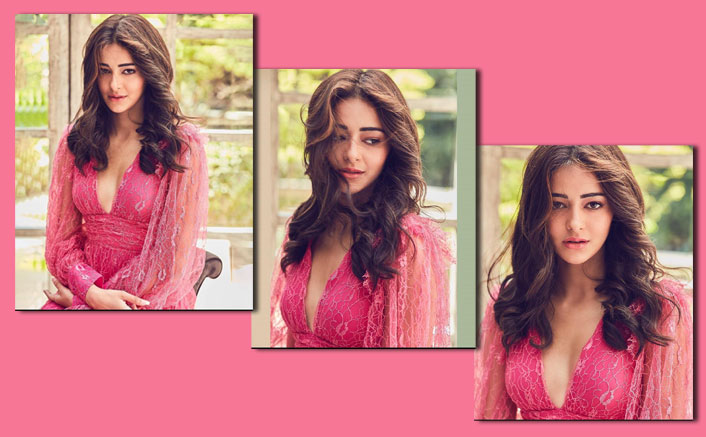 Ananya Panday Looks Like A Vision To Behold At The Trailer Launch Of Pati Patni Aur Woh