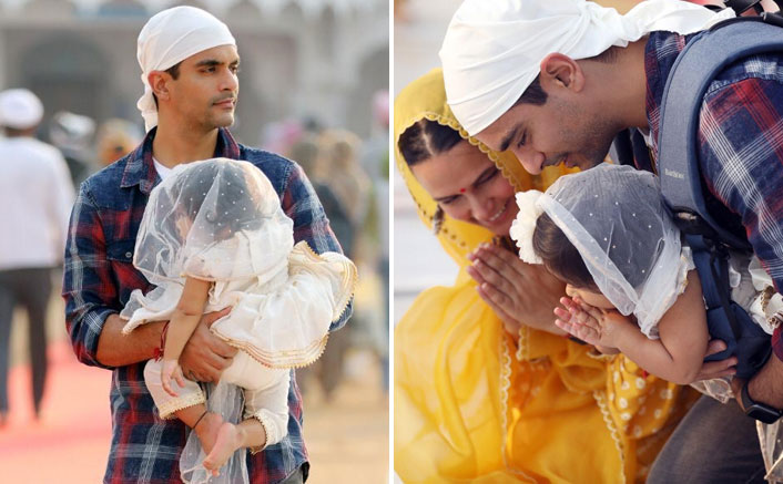 Angad visits Golden Temple ahead of Inside Edge release and to seek blessings for his daughter's 1st birthday