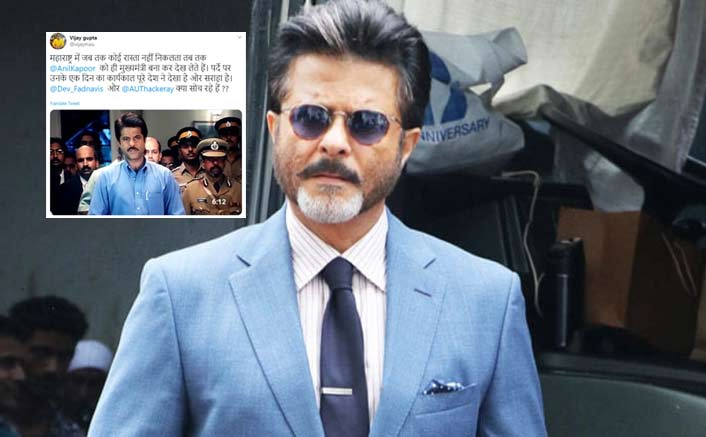 Anil Kapoor Has A Witty Reply To A Twitterati Asking Him To Be The Maharashtra CM